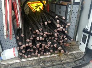 300m ancien cable