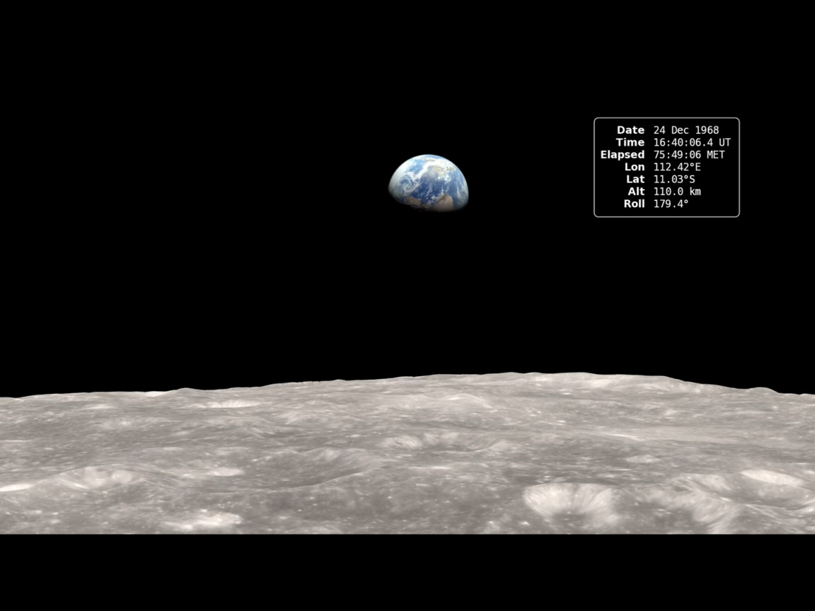 Earthrise 24dec1968