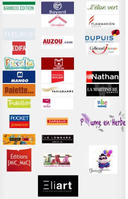 Liste partenaires festival du livre
