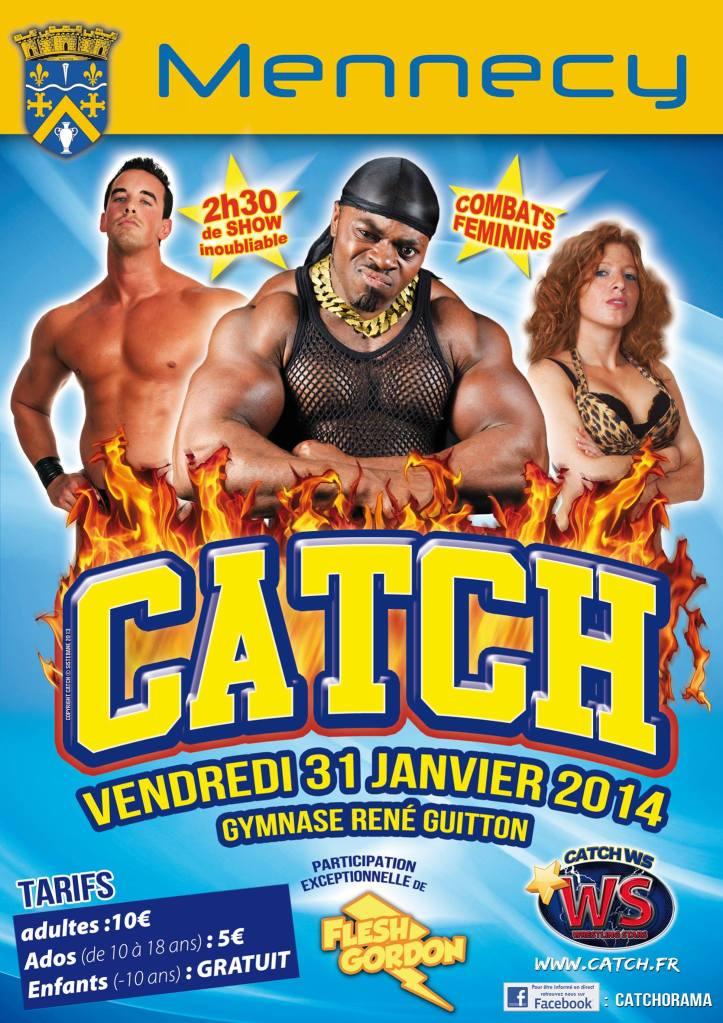 Affiche catch janvier 2014