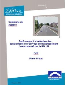Couv projet pont RD191 A6