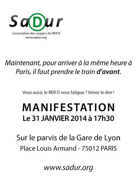 Tract sadur manif 31 janvier 2014