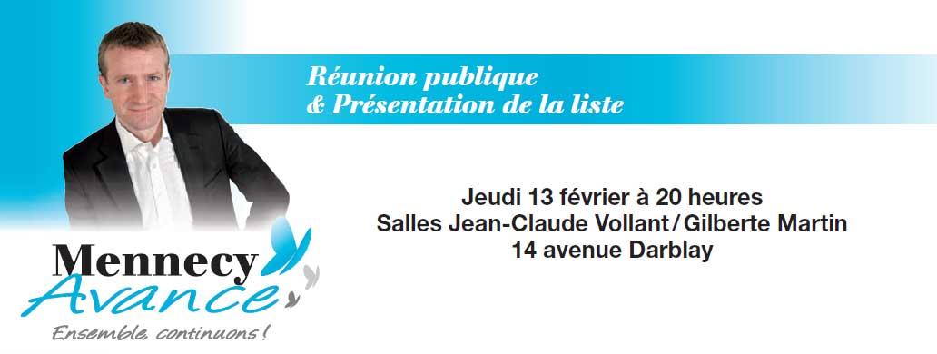 Image invitation reunion 13 fevrier