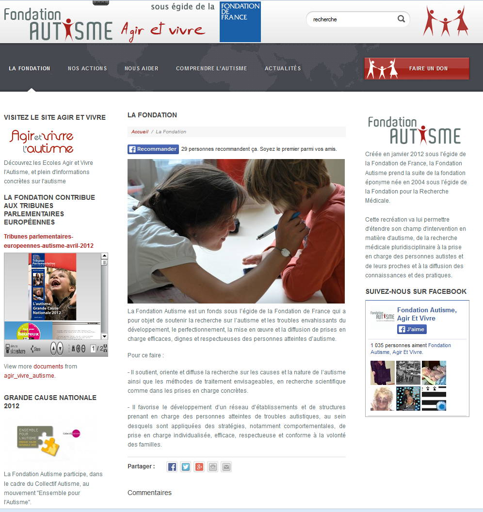 Image site autisme