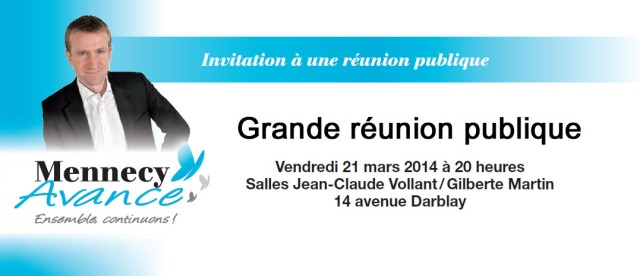 Reunion publique 21 mars