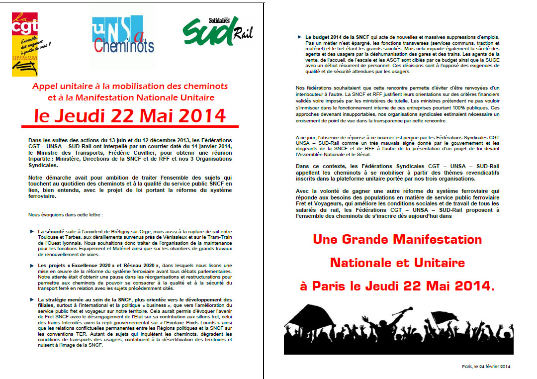 appel national 14 mai 2014