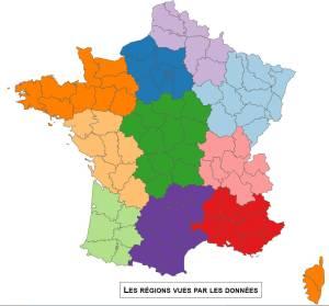 Carte 10 regions