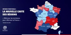 carte 14 regions