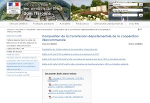 Page site pref CDCI