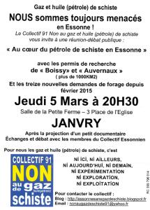 Image affiche reunion gaz schiste janvry 05032015