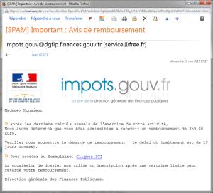 Message phishing