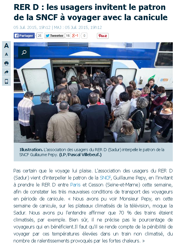 Article LeParisien 05072015