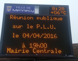 Affiche reunion publique PLU 4avril2016
