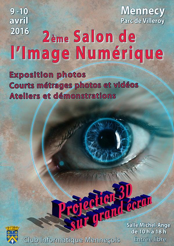 Affiche salon image numerique 2016